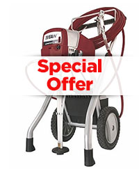 Airless Spray Equipment Special Offers